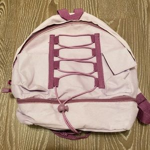Handbags - Purple mini backpack with pouch